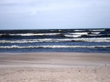 Plaża w Dębkach, Bałtyk