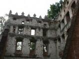 Zamek w Krupe, wnętrze