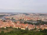 Most Karola w Pradze, widziany z góry