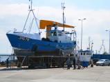 Port Jastarni, remont kutra