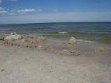Plaży w Ostrowie