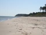 Zamku, plaża w Ostrowie