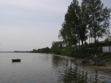 Po prawej stronie molo w Swarzewie