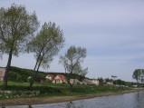 Po lewej stronie molo w Swarzewie