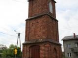 Kapliczka na skrzyżowaniu w Sławoszynie