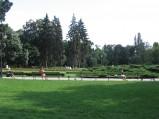 Skwer obok pomnika Paderewskiego