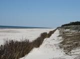 Plaża w Lubiatowie przy wejściu nr 38