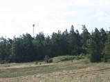 Wieża obserwacyjna koło kamieniołomu józefowskiego