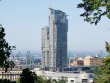 Sea Towers, widok z Kamiennej Góry