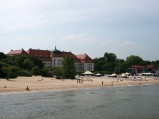 Grand Hotel w Sopocie, widziany z molo