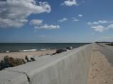 Plaża przy porcie