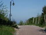 Wejście na plażę w Jastarni
