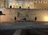 Żołnierze przed parlamentem greckim, Ateny