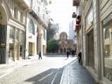 Uliczka, Kościół Kapnikarea w Atenach