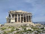 Widok na Partenon, Ateny