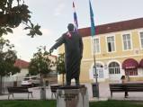 Pomnik dr. Franje Tuđmana w Bibinje