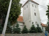 Wieża kościoła w Bobowie