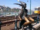 Rzeźba Mała Księżniczka w Budapeszcie
