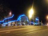Chełmski Park Wodny nocą, Chełm