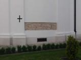 Odkryty mur Bazyliki w Chełmie