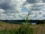 Widok na Jezioro Białe, Chmielno