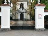 Brama, do kościół parafialnego w Czersku
