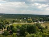 Jezioro Czerskie, widok z Zamku w Czersku