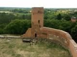 Baszta Południowa - Zbrojna, Zamek w Czersku