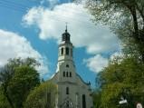 Wieża kościoła w Domaniewicach