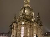 Kościół Marii Panny nocą, Drezno