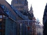 Widok na Kościół Maryi Panny w Dreźnie