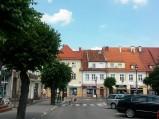 Kamienice na rynku w Działdowie