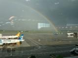 Tęcza, Port lotniczy Mediolan-Malpensa, Ferno