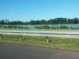 Jezioro Mamucie, widziane z drogi S17, Garwolin