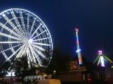 Koło widokowe i karuzele w Gdyni