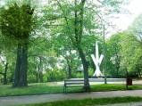 Pomnik w parku im. Armii Krajowej w Głownie