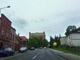 Widok na zamek w Golubiu-Dobrzyniu
