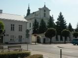 Widok, kościół parafialny p.w. Niepokalanego Poczęcia NMP w Gorze Kalwarii