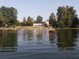 Pomost i kąpielisko przy ośrodku w Grabniaku