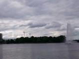 Fontanna Alster, Jezioro Binnenalster, Hamburg