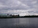 Jezioro Binnenalster w Hamburgu