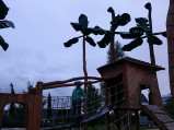Plac zabaw w Grasbrook Park w Hamburgu