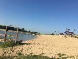 Plaża w Horodysku nad Zalewem Maczuły