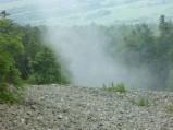 Górny fragment gołoborza na Łysej Górze