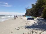 Plaża przy wyjściu z Lisiego Jaru