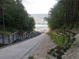 Wejście na plażę nr 23 w Jastrzębiej Górze