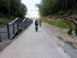Możliwość zjazdu rowerem na plażę nr 23 w Jastrzębiej Górze