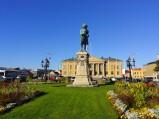 Pomnik króla Karola XI, Stortorget, Karlskrona