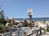 Wejście na plażę nr 14, Karwieńskie Błoto Drugie