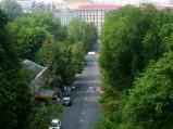 Widok z Mostu Zakochanych, Kijów